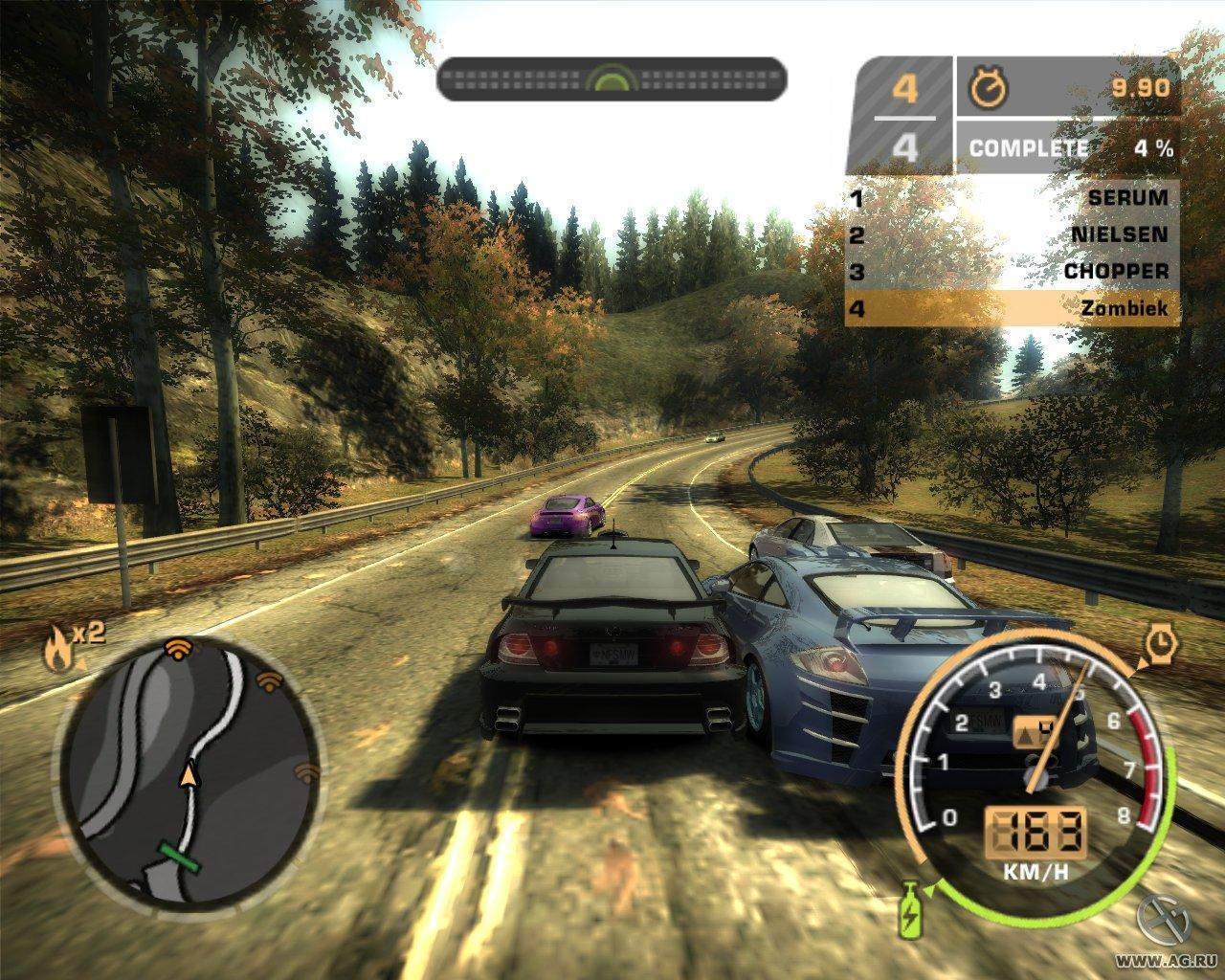 Need for speed most wanted: black edition (2005) rus скачать через.